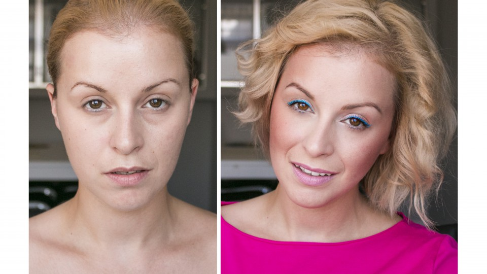 Make up no make up z nutką koloru by ZMALOWANA
