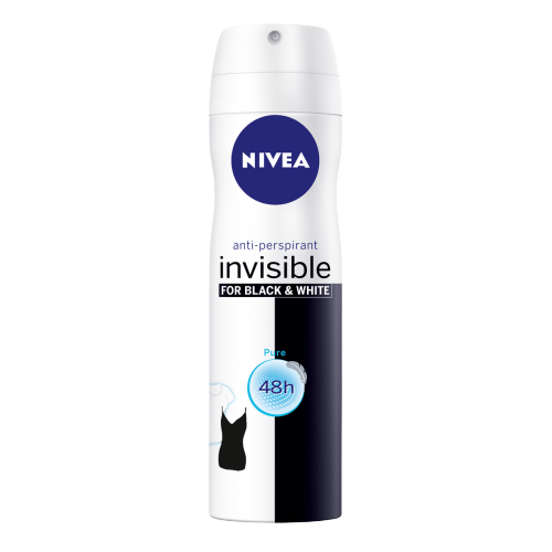 ANTYPERSPIRANT SPRAY INVISIBLE PURE