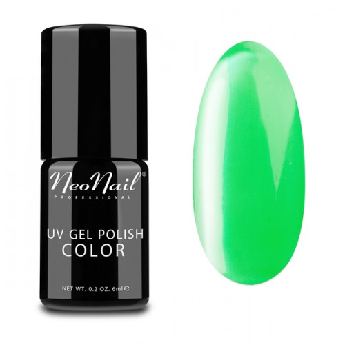 UV Gel Polish Color lakier hybrydowy 3749 Neon Green