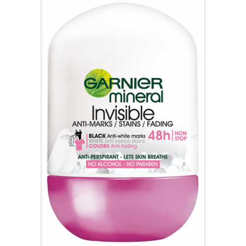 MINERAL INVISIBLE BWC ROLL-ON ANTYPERSPIRANT