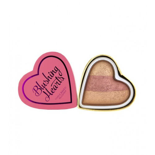 Triple Baked Blusher Blushing Hearts róż do policzków Peachy Keen Heart