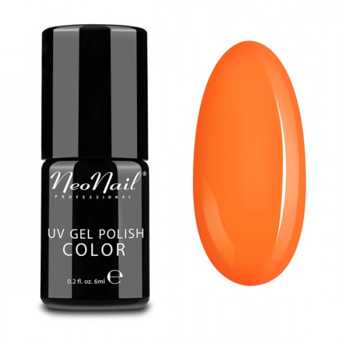 UV Gel Polish Color lakier hybrydowy 3190 Neon Orange