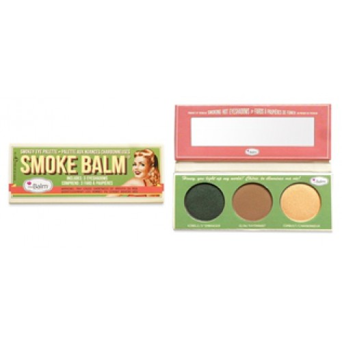 Smoke Balm Smokey Eye Palette paletka cieni do powiek Smoke2
