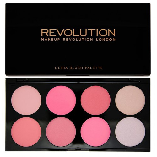 Ultra Professional Blush Palette paleta róży All About Pink