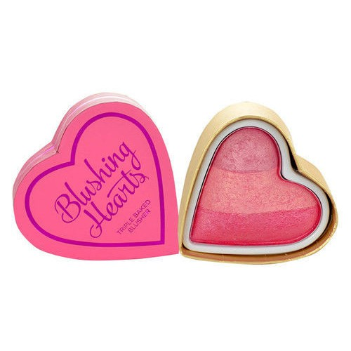 Triple Baked Blusher Blushing Hearts róż do policzków Candy Queen Of Hearts