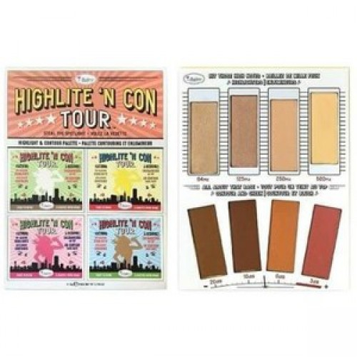 Highlite'n Con Tour Highlight & Contour Palette paleta do konturowania