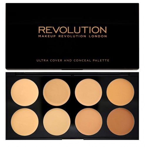 Ultra Professional Cover & Concealer Palette paleta 8 korektorów Light-Medium