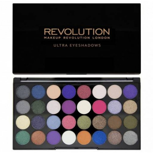 Ultra Eyeshadows Eyes Like Angels paleta 32 cieni