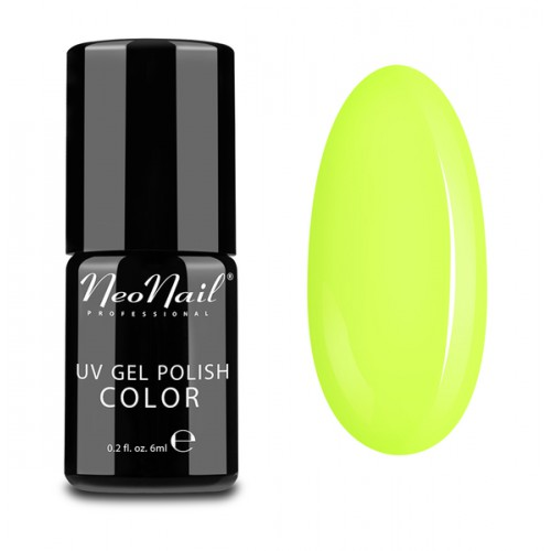 UV Gel Polish Color lakier hybrydowy 3191 Neon Yellow