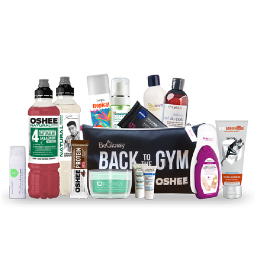 """BeGlossy """"BACK TO THE GYM"""" powered by OSHEE"""