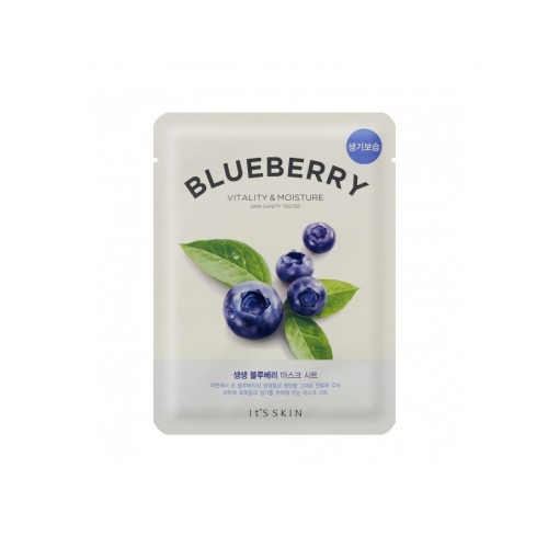 THE FRESH MASK SHEET BLUEBERRY MASECZKA W PŁACIE