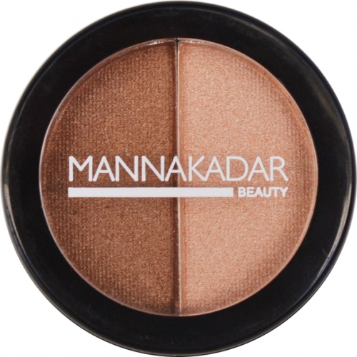 Manna Kadar Radiance Split Pan Bronzer and Highlighter Duo