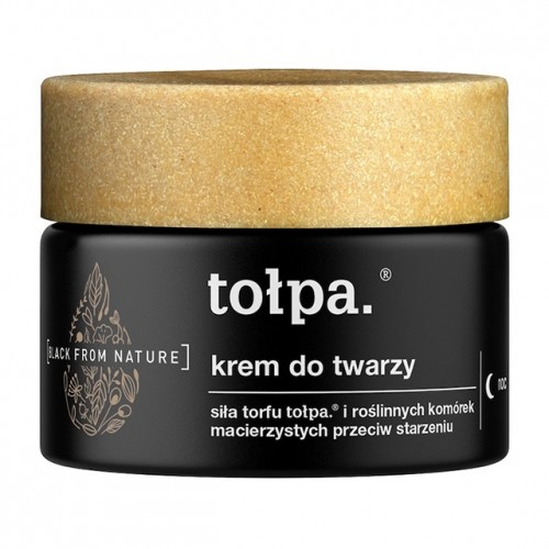 Krem do twarzy na noc - Black From Nature