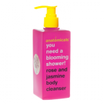 You need a blooming shower!