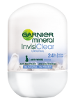 MINERAL INVISI CLEAR ROLL-ON ANTYPERSPIRANT